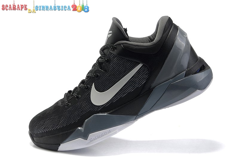 purchase cheap 7f0fc 695e6 Scarpa da basket - Nike Kobe Vii 7 Nero Bianca - Uomo - Scarpe da basket