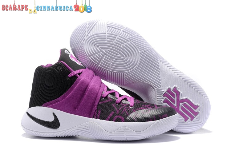 "Scarpa da basket - Nike Kyrie Irving Ii 2 ""Grape Jelly"" Nero Porpora - Uomo Online"