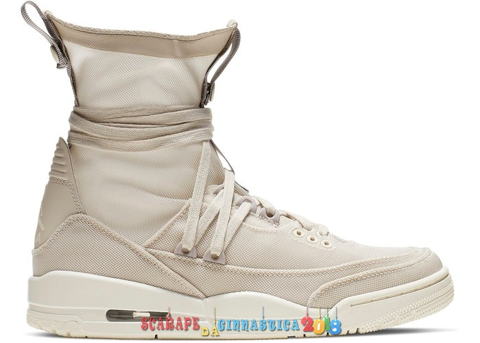 Acquisto Air Jordan 3 Retro Explorer Lite XX Beige (BQ8394-002) - Donna - Scarpe da basket