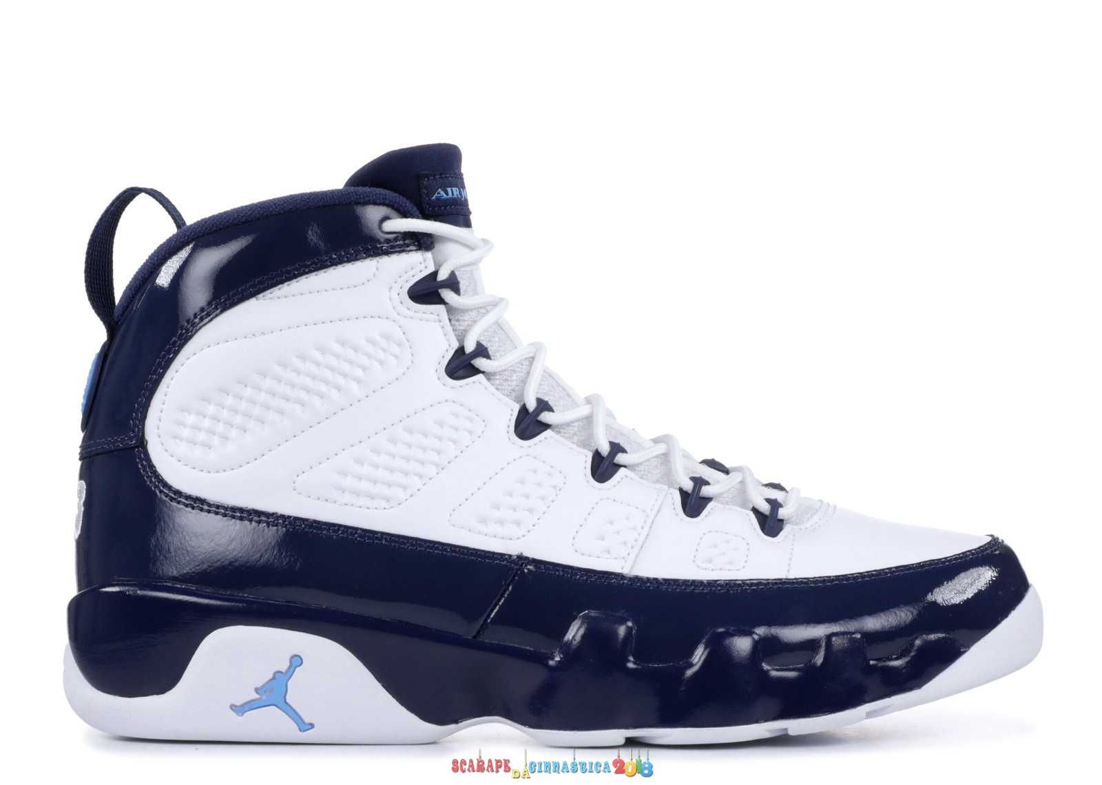 Buy Air Jordan 9 Retro Unc Blu (302370-145) - Uomo Replica