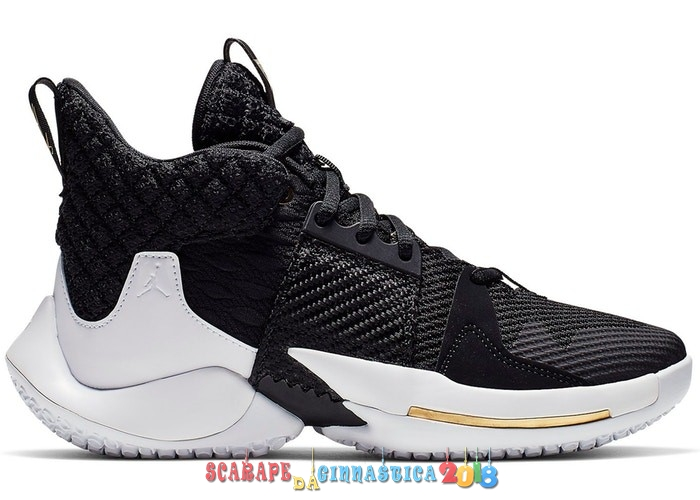 Buy Air Jordan Why Not 0.2 (GS) Bianca Nero (AO6218-001) - SCARPE BASKET