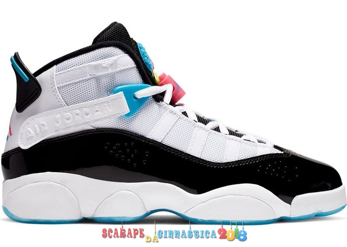 Nuovi Prodotti Air Jordan 6 Rings (GS) South Beach Bianca (CK0025-100) Online