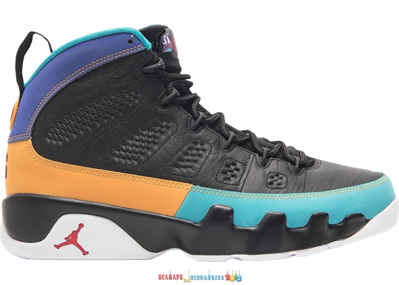 Nuovi Prodotti Air Jordan 9 Retro Dream It Do It Nero (302370-065) - Uomo Replica