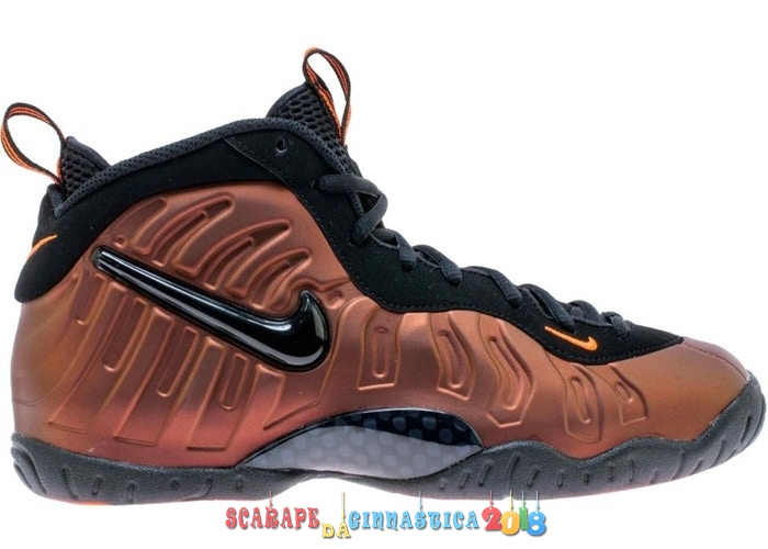 "Replica Nike Air Foamposite Pro (GS) ""Color Shift"" Oro Nero (644792-800) a Poco Prezzo"