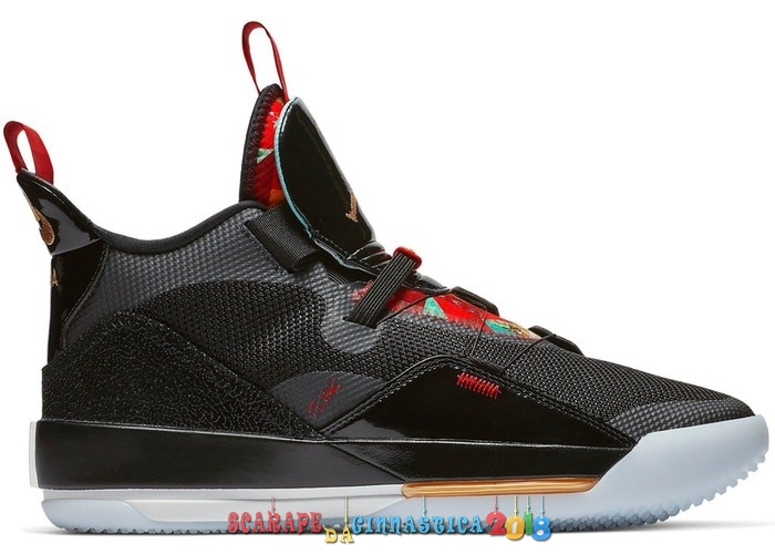 Scarpa da basket - Air Jordan 33 Chinese New Year 2019 Nero (AQ8830-007) - Uomo Online