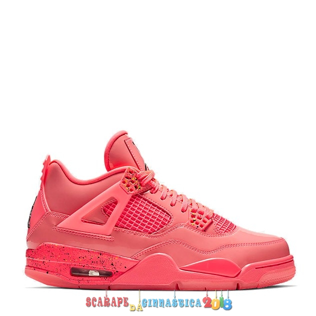 "Scarpa da basket - Air Jordan 4 ""Hot Punch"" Rosso (AQ9128-600) - Donna Online"