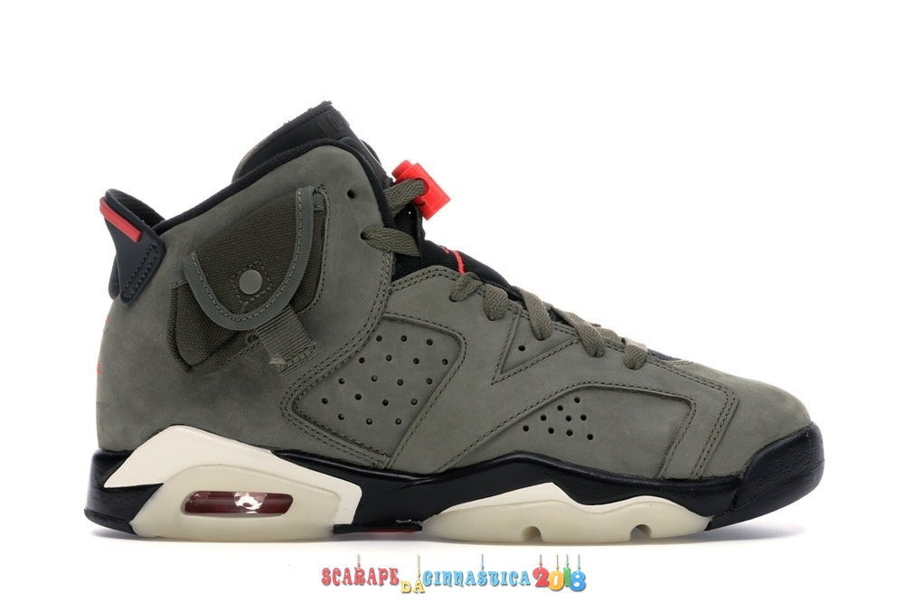 "Buy Air Jordan 6 Retro (GS) ""Travis Scott"" Oliva (CN1085-200) - SCARPE BASKET"