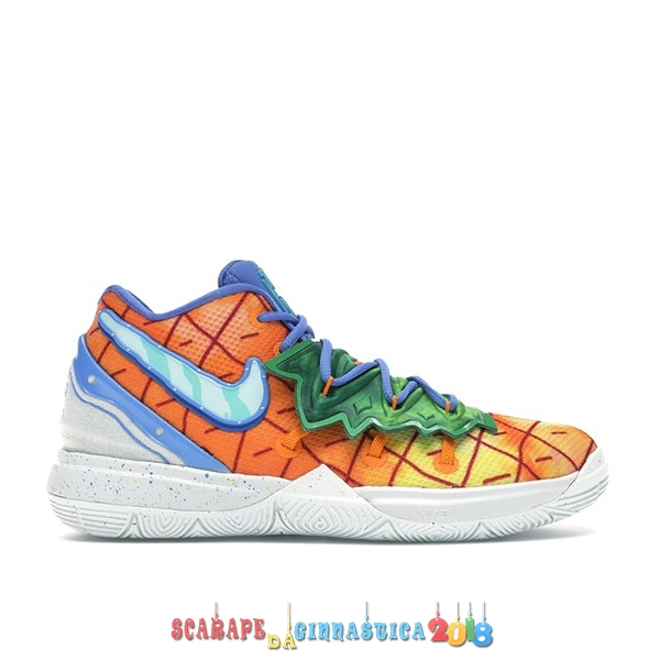 "Buy Nike Kyrie Irving V 5 (PS) ""Spongebob Pineapple House"" Arancia (CN4501-800) a Poco Prezzo"