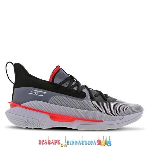"Buy Under Armour Curry 7 (GS) ""Undrtd"" Gris (3022113-100) a Poco Prezzo"