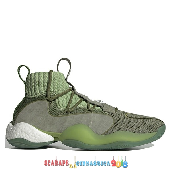 "Comprare Adidas Crazy Byw Prd Pharrell ""Now Is Her Time"" Verde (EG7729) - Uomo - SCARPE BASKET"