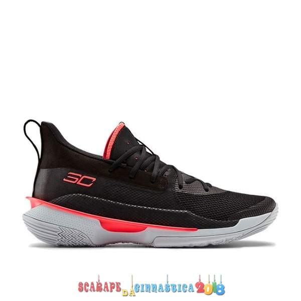 "Comprare Under Armour Curry 7 (GS) ""Beta Red"" Nero (3022113-001) Online"