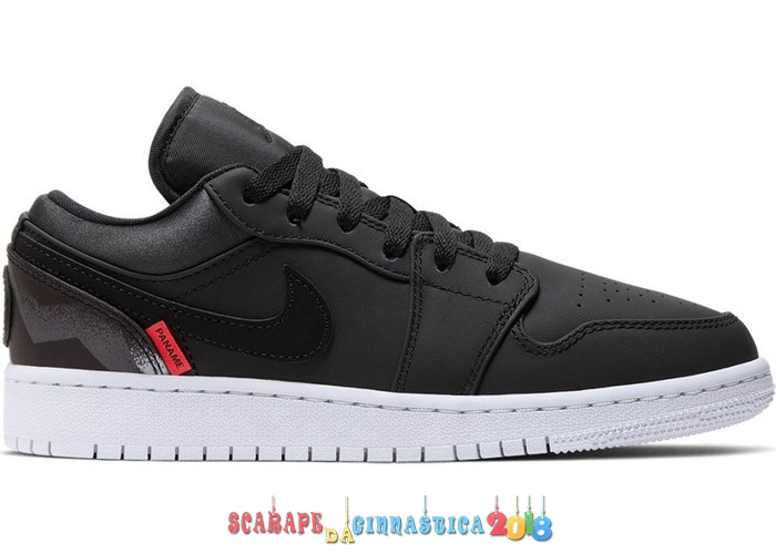 "Scarpa da basket - Air Jordan 1 Low (GS) ""Psg Paris Saint Germain"" Nero (CN1077-001) Online"