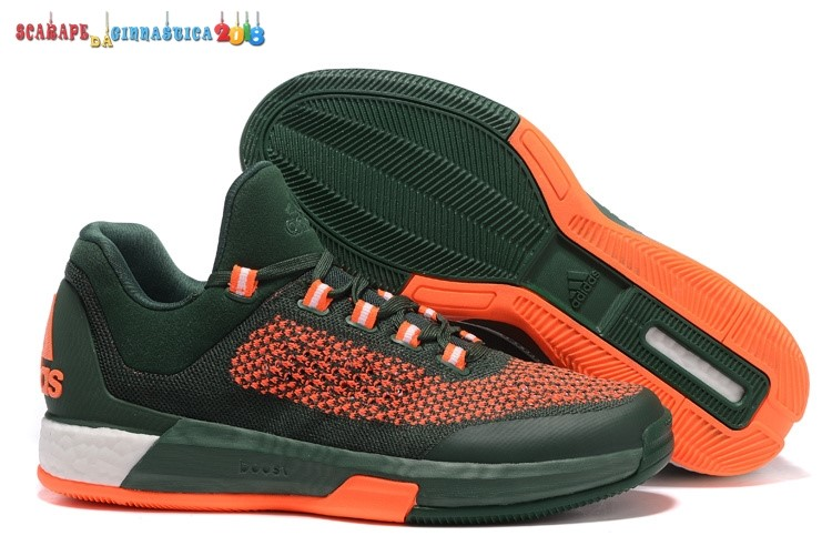 Buy Adidas Crazylight Jeremy Lin Arancia Verde - Uomo Replica
