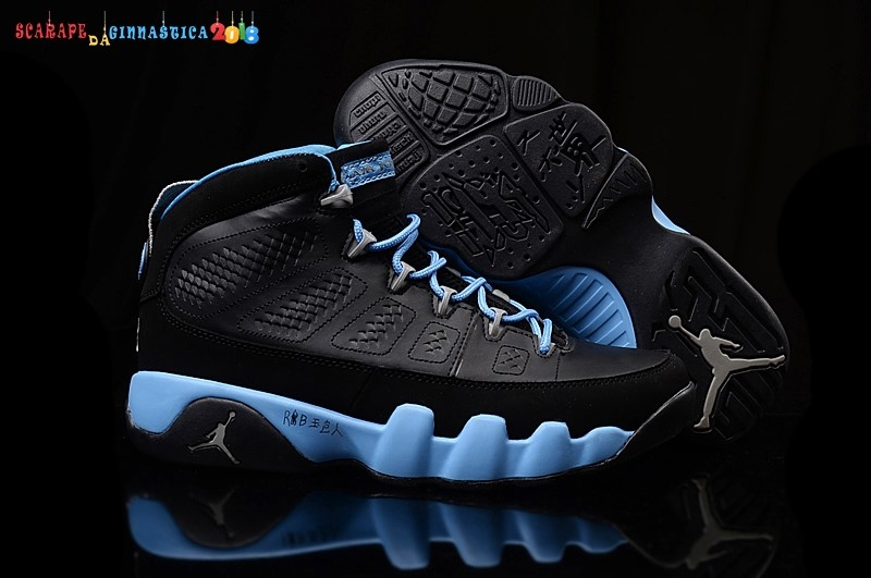 Buy Air Jordan 9 Nero Blu - Donna - SCARPE BASKET