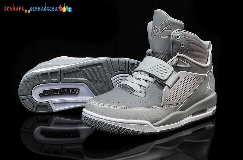 Buy Air Jordan Flight Gris Bianca - Uomo - Scarpe da basket
