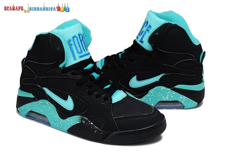 Buy Nike Air Force 180 Nero Blu - Uomo Replica