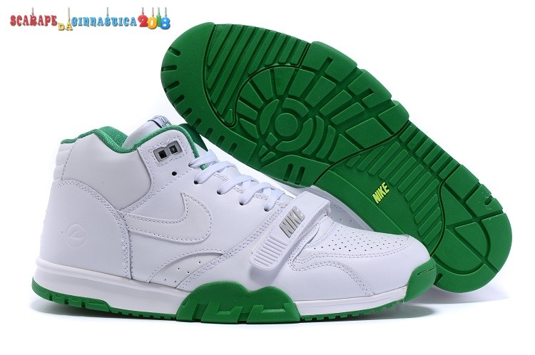 Buy Nike Air Trainer 1 Mid Bianca Verde - Uomo - SCARPE BASKET