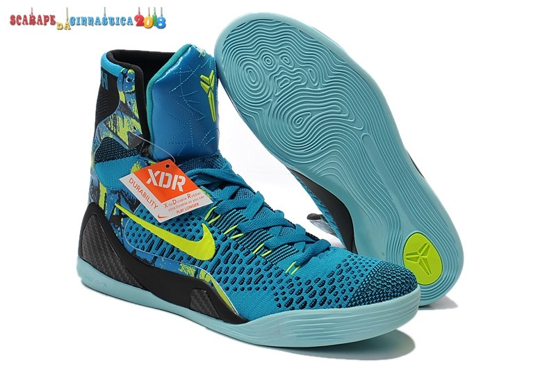Buy Nike Kobe 9 Elite Blu Nero - Uomo Replica