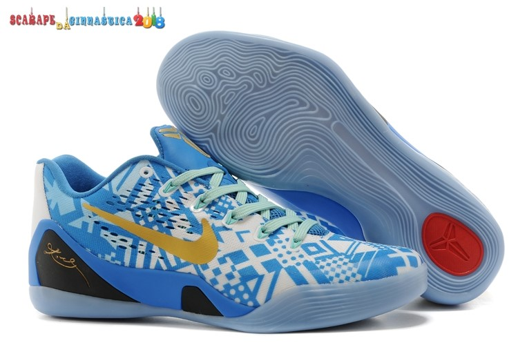 Buy Nike Kobe 9 Elite Blu Oro - Donna Replica