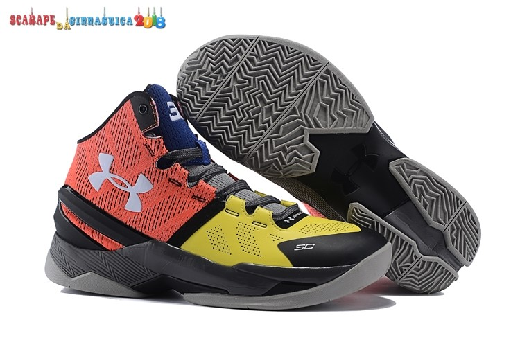 Buy Stephen Curry 2 Giallo Gris Rosso - Uomo Online