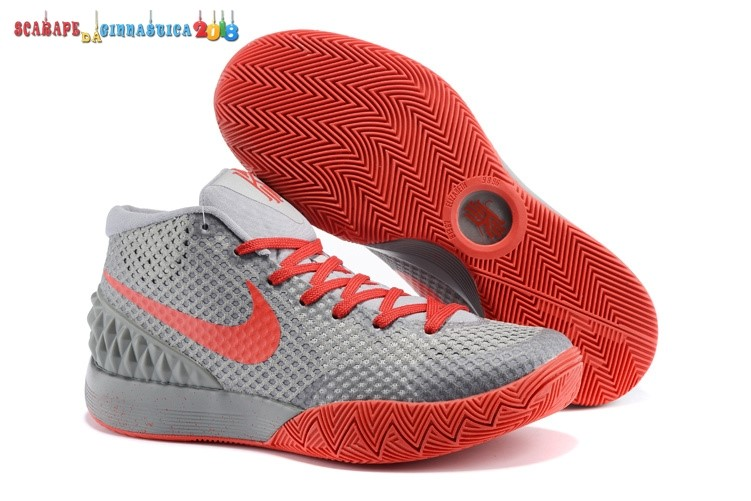 Comprare Nike Kyrie Irving 1 Gris Rosso - Donna Scarpe sportive