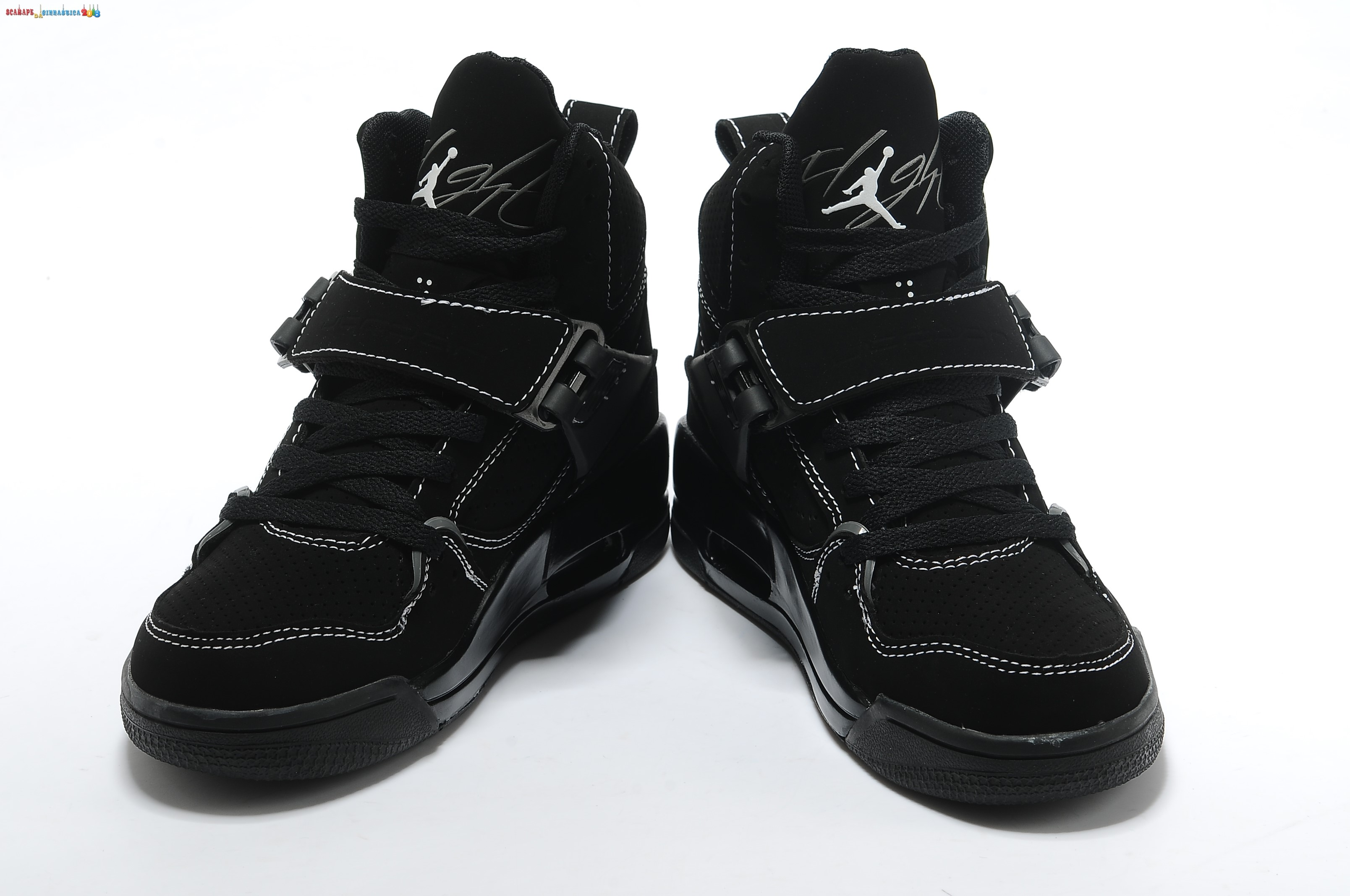 Replica Air Jordan 4.5 Nero - Donna Scarpe sportive