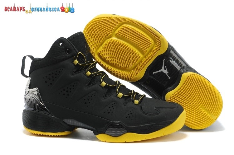 Scarpa da basket - Air Jordan Carmelo Anthony 10 Nero Giallo - Uomo Online