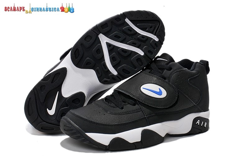 Scarpa da basket - Nike Air Mission Nero Bianca - Donna - Scarpe da basket
